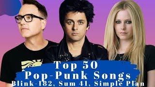 Top 50 Pop Punk Songs. The Best Pop Punk Songs