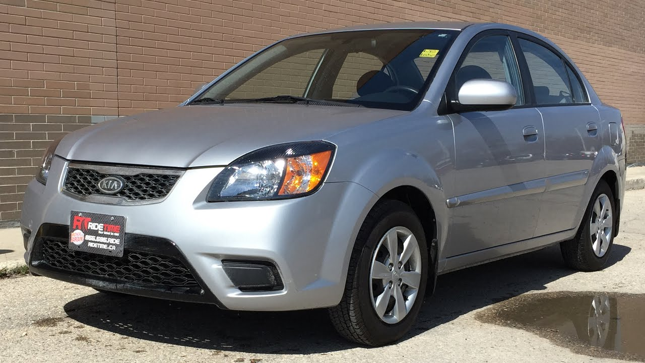 2011 Kia Rio EX Convenience - Power Windows & Locks, LOW KM\'s | For ...