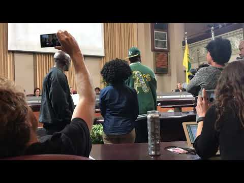 Kenzie Smith Speaks at Oakland City Council Meeting