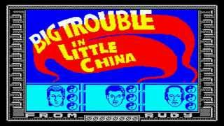 FUNKYSPECTRUM PLAYS - BIG TROUBLE IN LITTLE CHINA