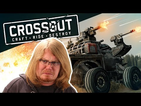 Crossout - HOW DO I CONTROL THIS THING?! #AD
