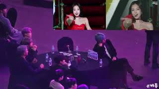 Download lagu BTS REACTION TO JENNIE - 'SOLO' in 2019 Mnet Gaon Chart Music Awards