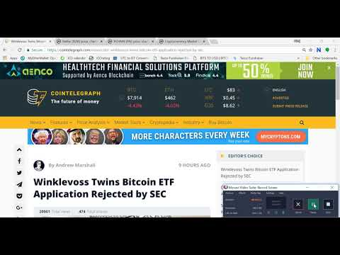 FAKE NEWS- WINKLEVOSS BITCOIN ETF REJECTED/ CRYPTO CONSPIRACY/ ETF INSIGHTS $BTC WILL MAKE NEW HIGH$