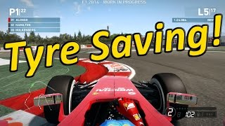 F1 2014 Game: How to Save your Tyres & Fuel
