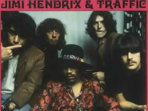 Jimi Hendrix & Traffic Jam Thing (Rare Live Session)