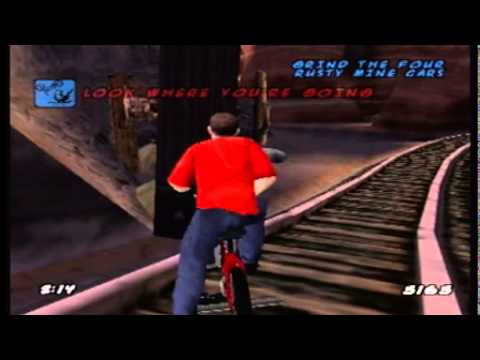 Let's Play Dave Mirra Freestyle BMX 2 Level 7: Devil's Peak