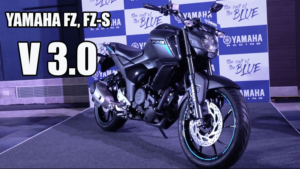 Yamaha Fz Fz S V3 0 Detailed Look Delivery Colours New