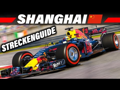 F1 2017 Streckenguide Shanghai, China | Formel 1 2017 Tutorial Deutsch 4K Gameplay German