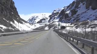 Norwegian Spring Trip by car in the Mountains of Norway - Norway 2017 Spring