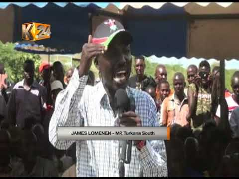 Families bid farewell to 19 people killed in a road accident in Baringo