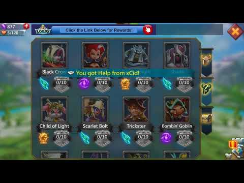 Lords Mobile F2P Series 7: How To Change Your Hero