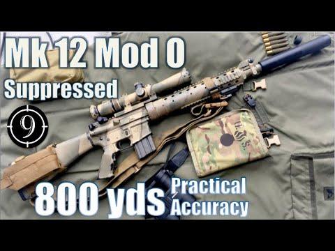 Mk12 Mod0 SPR to 800yds (Suppressed- AEM-5): Practical Accuracy  (Vortex 2.5-10x32, SOCOM Rifle)
