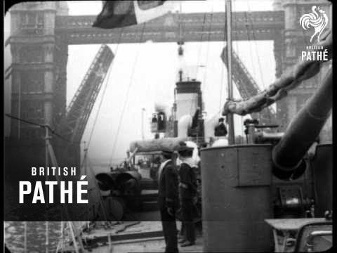 Italian Navy Destroyer Aka Novel Sight In The Thames (1922)