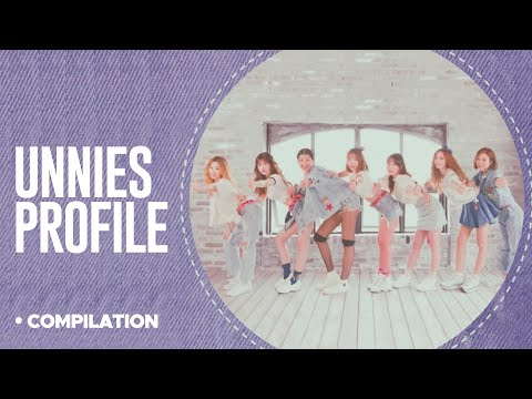 Meet the UNNIES! (언니쓰) - Group Profile : Position, Members, etc (Sisters Slam Dunk)