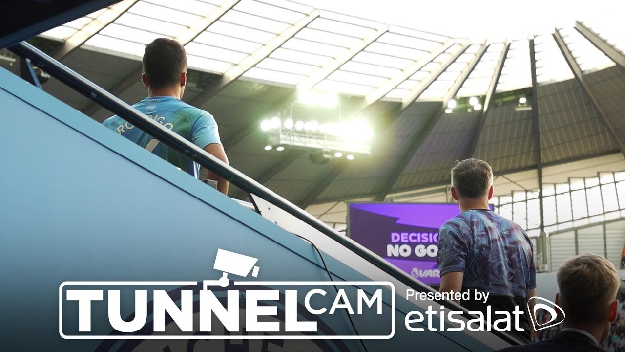 TUNNEL CAM | Man City 2-2 Tottenham 