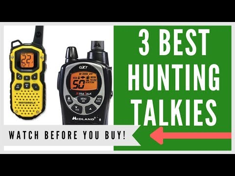 ✅ Best 2 Way Radio For Hunting -- Top 3 Walkie Talkies For The Money
