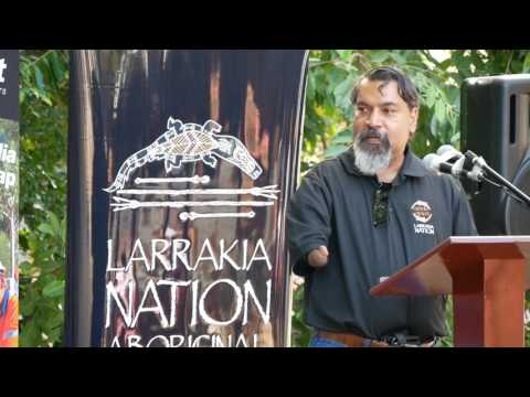 NAIDOC Flag Raising 2017 Darwin