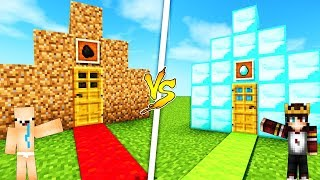 ZENGİN VS FAKİR EVİ !! 😱 - Minecraft