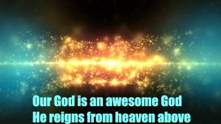 Rich Mullins - Awesome God - Karaoke / Lyrics