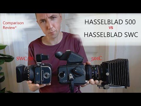 Hasselblad 500 Vs Hasselblad SWC - Size Comparison Review + The Hasselblad Modular Design