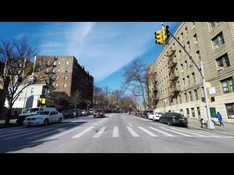 Bedford Park Boulevard Lehman College Bronx New York NYC USA 4K
