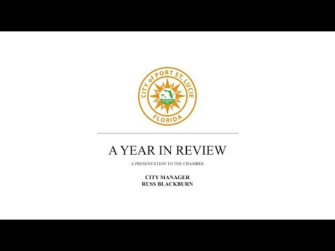 City of Port St. Lucie - A Year in Review