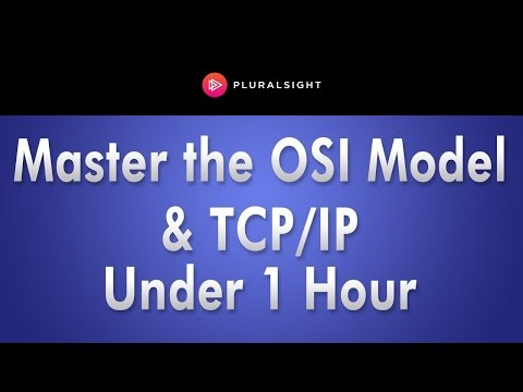 Pluralsight Webinar: Networking Fundamentals: Master the OSI Model and TCP/IP in Under 1 Hour