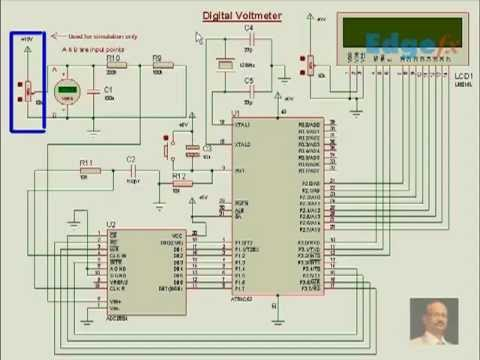 Digital Voltmeter Circuit Diagram | General Circuits  YouTube