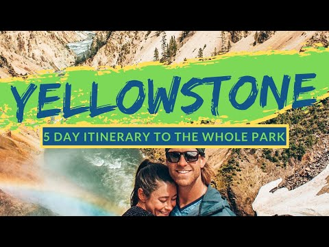 5 BEST DAY TRIPS IN YELLOWSTONE | Geysers, Hikes, Wildlife, Hot Springs, & Camping [THE WHOLE PARK]