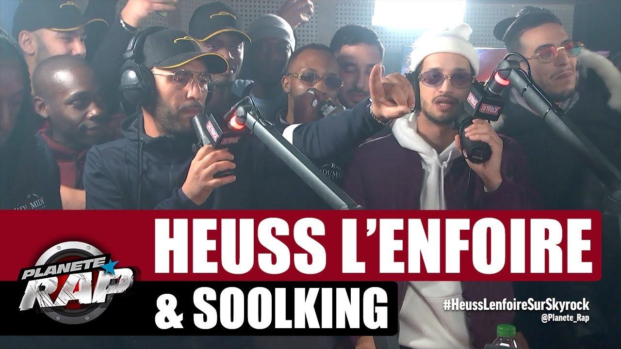 "Download [Exclu] Heuss L'enfoiré ""Benda"" ft Soolking #PlanèteRap"