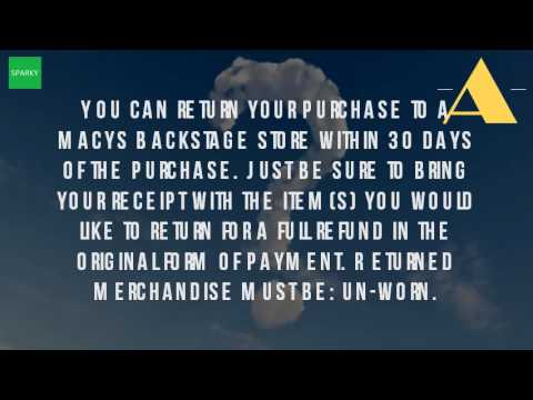 sports shoes fe4e0 ff2ab What Is Macys Return Policy