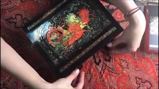 Видео про подарочную коробку с музыкальным механизмом. Тройка.