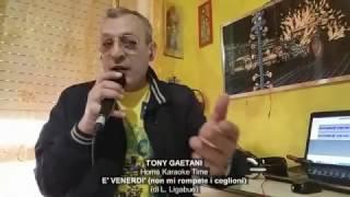 Tony Gaetani - E' VENERDI Non mi rompete i coglioni (Home Karaoke)