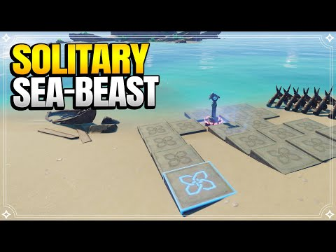 Solitary Sea-Beast | World Quests and Puzzles |【Genshin Impact】