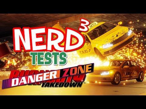 Nerd³ Tests... Danger Zone - A Car Crash