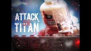 LEGO stop motion - ATTACK ON TITAN