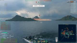 World of warships - AXIS vs ALLIES match 3 season 1