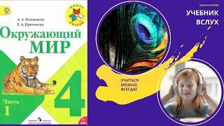 """Окружающий мир 4 класс ч.1, тема урока """"Мир глазами астронома"""", с.4-7, Школа России"""