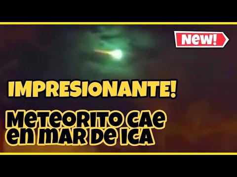 URGENTE! CAE METEORITO EN MAR DE ICA PERÚ!! 15 ABRIL 2020   10PM