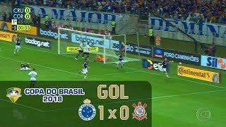 Cruzeiro 1 x 0 Corinthians - Final Copa do Brasil 2018 - Globo HD⁶⁰
