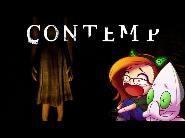 Contemp - IM SCARED OF EVERYTHING ~Full Playthrough~ (Indie Horror Game)