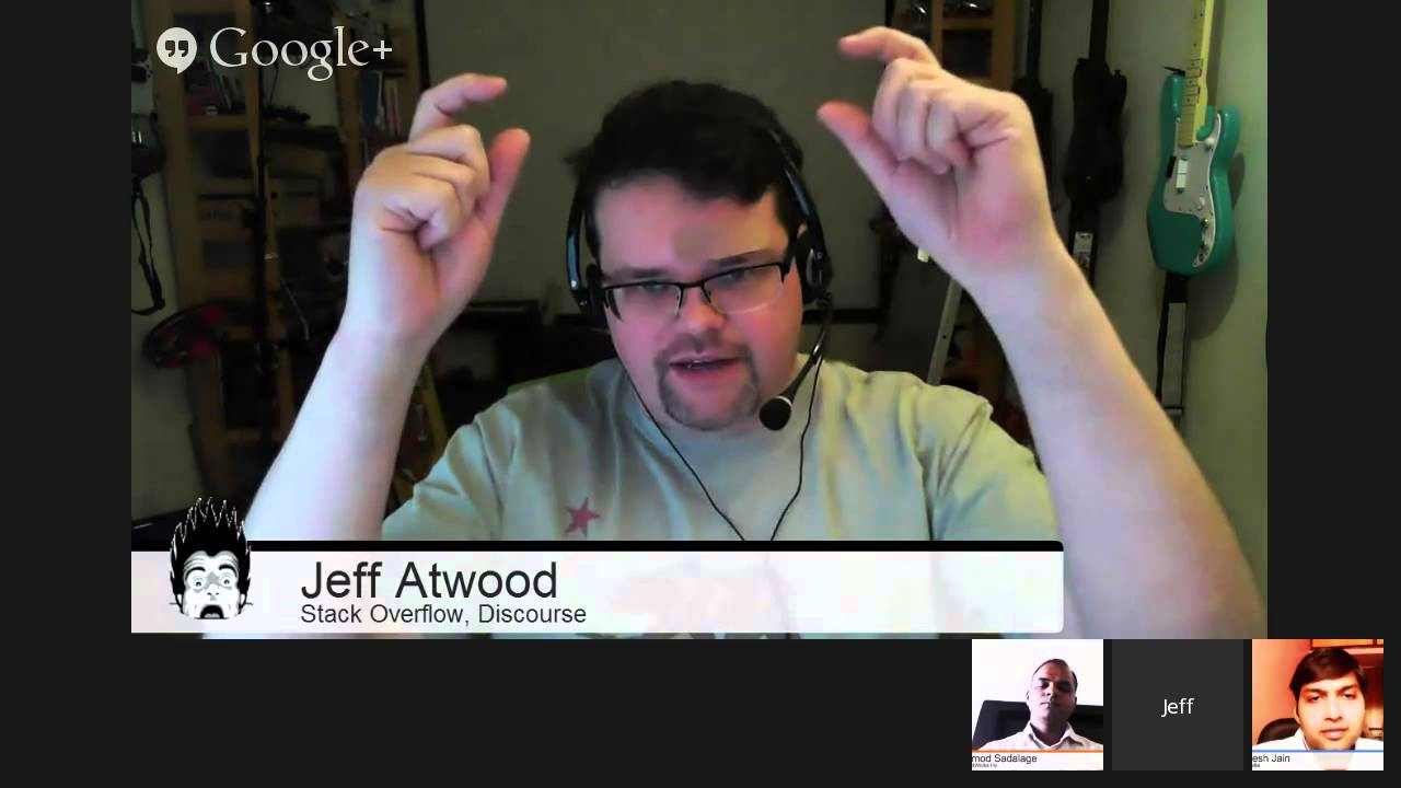 Good Stack Overflow Citizen by Jeff Atwood - YouTube