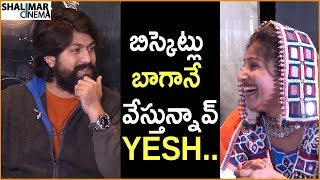 Mangli Funny Punches On Yesh || KGF Movie Team Funny Interview With Mangli || Yash, Srinidhi