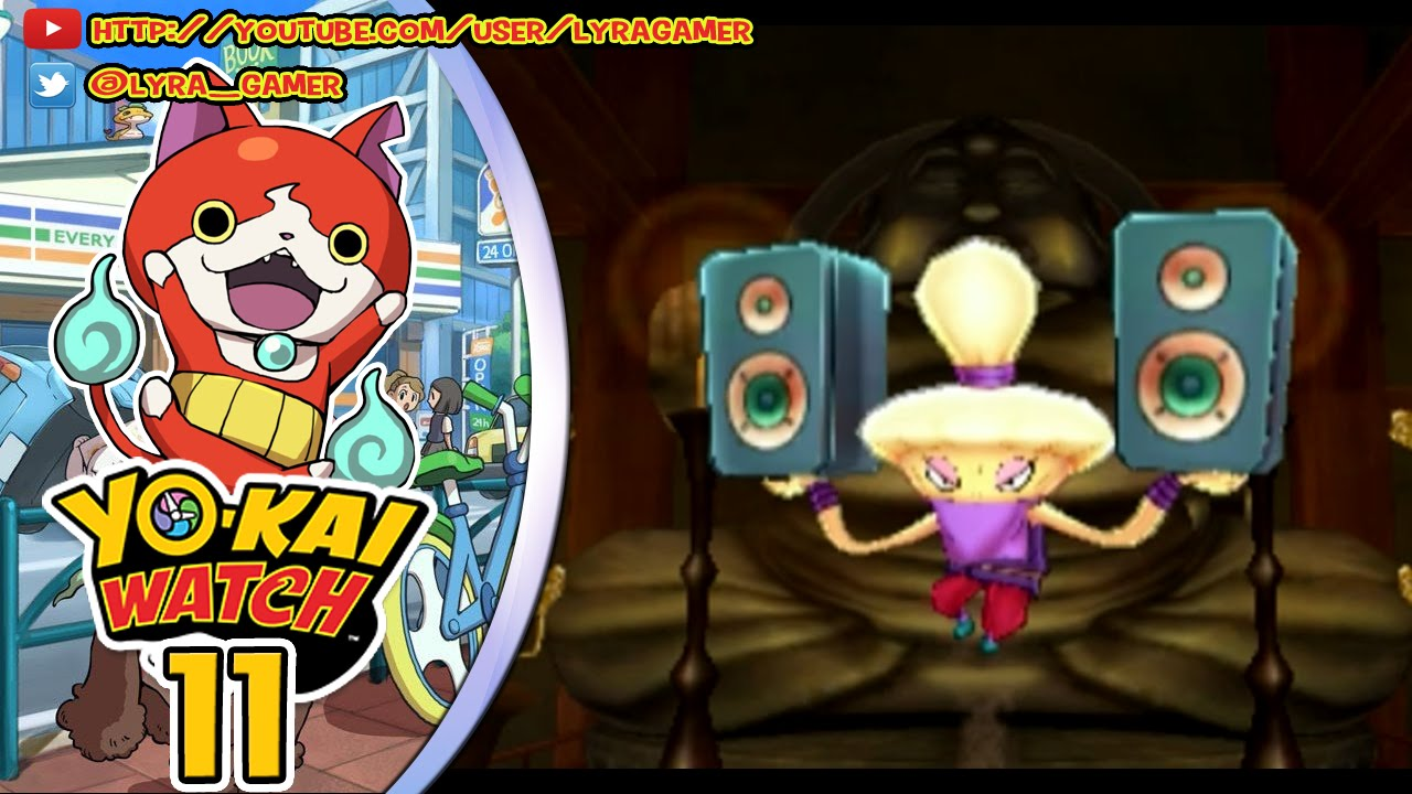 Yo kai watch 11 fuuuuuusi n youtube for Decoration yo kai watch