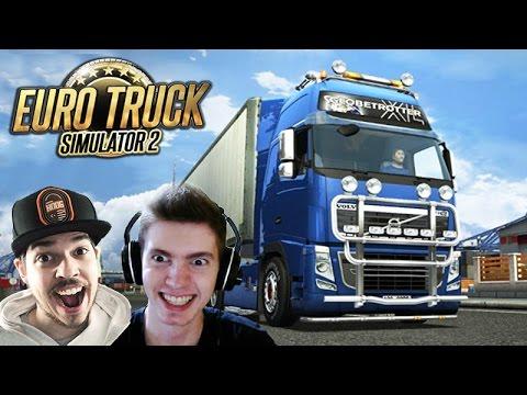 Euro Truck Simulator 2 Multiplayer - O INICIO do COMBOIO!! + G27
