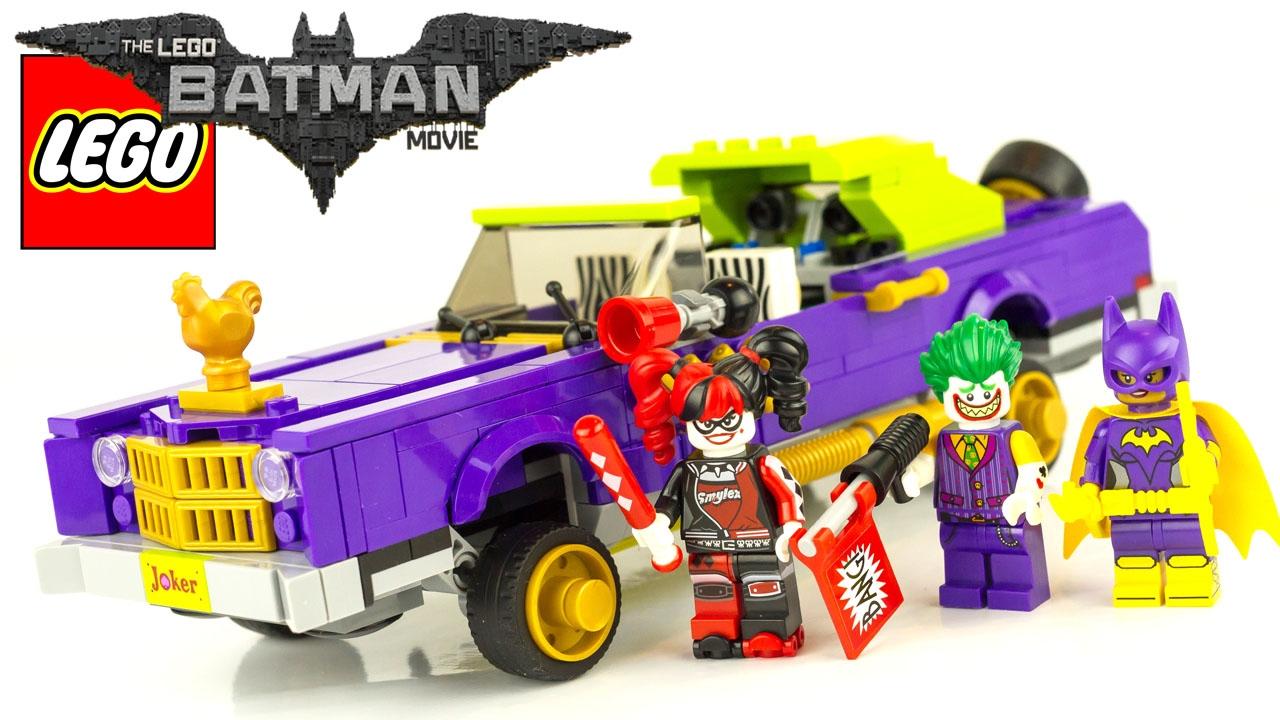 Notorious Film La Le Décapotable Lego Batman Du Joker 70906 Lowrider K1JcuTF53l