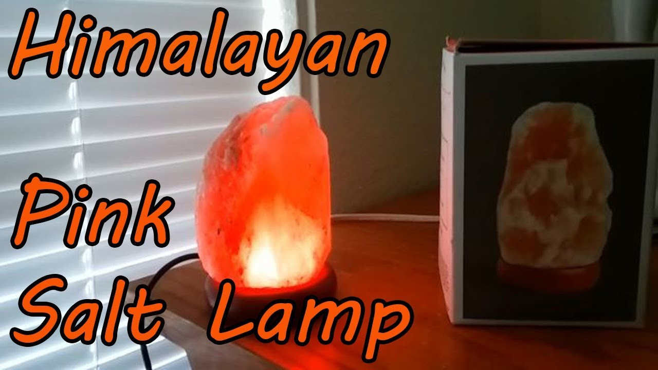 Earthbound Trading Company Himalayan Pink Salt Stone Lamp