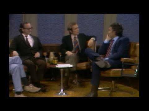 Anthony Burgess, Wally Cox, Jimmy Dean Dick Cavett 1971