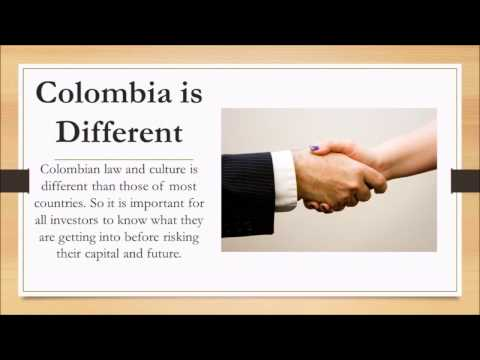 Doing Business in Colombia | 57 305 307 6505 | Legal Advice for Investing in Colombia