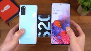 Samsung Galaxy S20 and S20 Plus Unboxing!